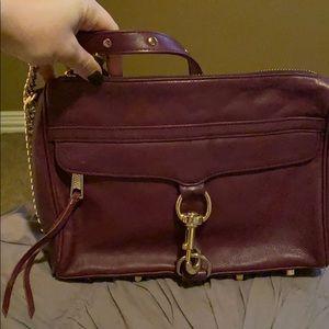 Rebecca Minkoff large Purple Crossbody bag